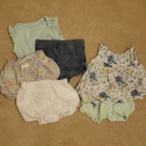 gap and old navy summer 6-12 m lot